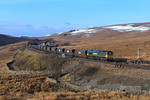In the last of the light 66512 finally arrives at Blea moor with 6Z32.06/04/2013.Fuji s3 pro.