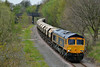 Class 66 No 66740 at Walton on 23 April 2014 with the 6E84 08:20 Middleton Towers – Monk Bretton Redfearns