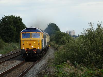 East Anglia Class 47s (23-08-2014)
