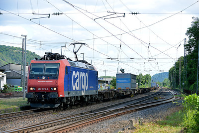 Cargo (Swiss) Class 482 No 482029 at Brohl on 15 June 2014