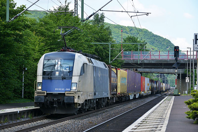 WLB Wiener Lokalbahn (Austria) Siemens Class 182 No ES 64 U2 060 - 182560 at Brohl on 15 June 2014