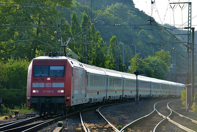 Class 101 No 101081 at Remagen on 14 June 2014