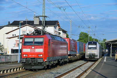 Class 185 No 185130 at Remagen on 14 June 2014