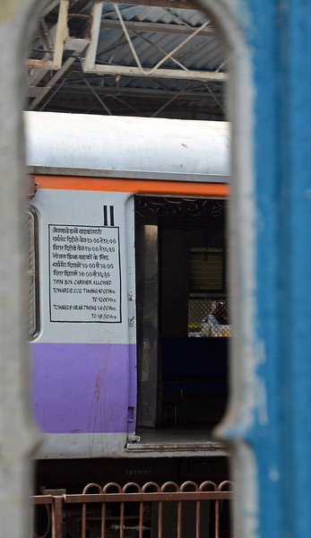 The Mumbai commuter railway is an integral part of one of the most remarkable  logistic operations in the world, that of the Dabbawallahs or Tiffin Box carriers.