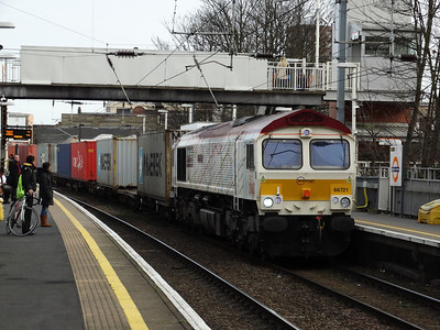North London Freight & High Speed Kent (24-01-2014)