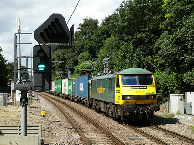 North London & North of London Freight (15-07-2014)