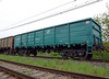 These Ukrainian wagons use the SA3 knuckle coupler rather than screw couplings
