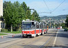 And finally before leaving Kosice; the next 9 was tram 530 which I had seen the previous evening on a number 6 outside the Doubletree by Hilton Hotel.