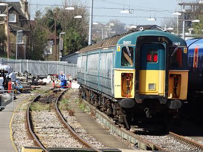 South West Trains Class 456s (09-04-2014)
