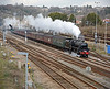 LMS Black 5 44932 in fine form on the 1Z82 Victoria to Cardiff Cathedrals Express to celebrate St David's Day