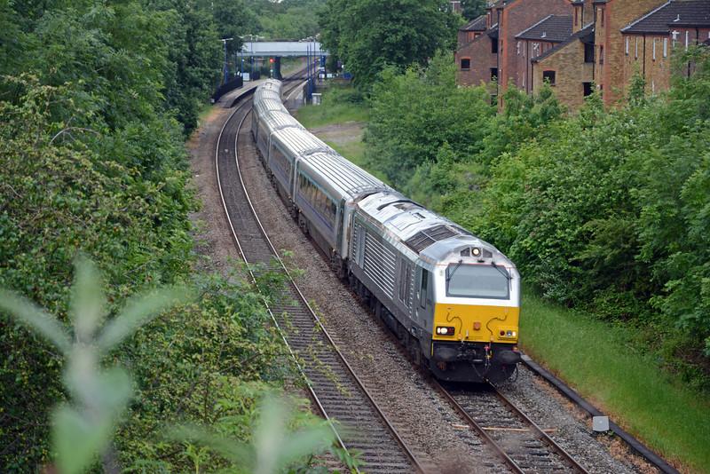 67010 on the 1K62 18:15 Marylebone to Kidderminster.