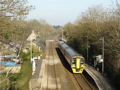 East Croydon, Taunton, Wesbury, Trowbridge, Bradford, Freshford, Avoncliff, Bath & Bristol (08-03-2014)