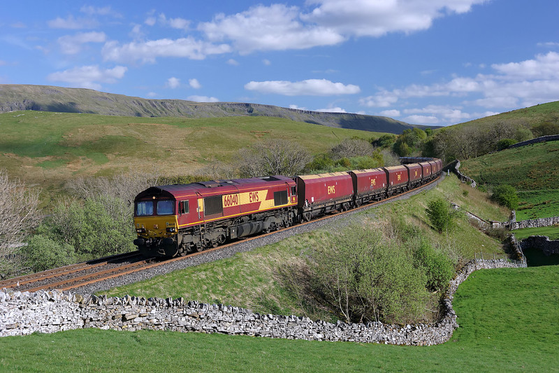 66040 Heads north through Birkett with Mr. Oliver Turner at the controls of 4S93.02/05/2014.Sony A65.