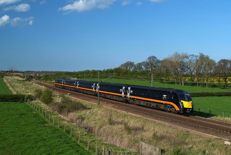 GC 180 Heads south at Colton.14/04/2014.Fuji S3 Pro.