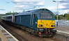 67004 about to depart from Stonehaven with the Caledonian Sleeper on 29th May 2015