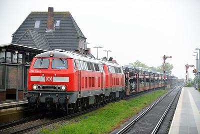 Class 218 No 218319/218314 at Klanxbull on 31 May 2015