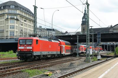 Class 112 No 112177 at Hamburg Hbf on 1 June 2015