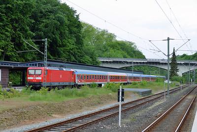 Class 112 No 112154 at Flensburg on 31 May 2015