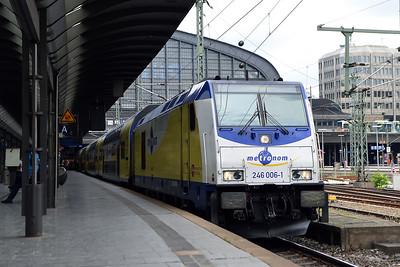 Class 246 No 246006 at Hamburg Hbf on 1 June 2015