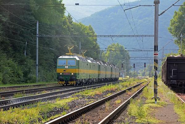 ZSSK Cargo's workhorse , the Skoda 131