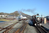The Snowdonian was  on the Ffestiniog side of the new platform at Harbour station