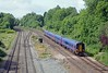 A minute later and the 10:08 Cardiff to Brighton (arr 14:54) formed of a pair of FGW two car 158s, a neat looking train