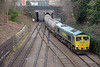 66607 takes the Carlton Road Junction spur with the 6M92