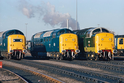 The next 13 images were taken by a good friend of mine 'Paul Russell' who was a secondman based at Holbeck at the same time as myself .The images are all taken at York MPD on the 6th November 1981.Images courtesy of Paul Russell.