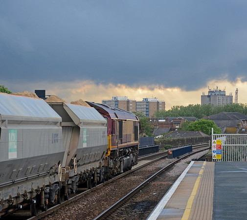 Before the wires come - the Gospel Oak to Barking Line in Spring 2016