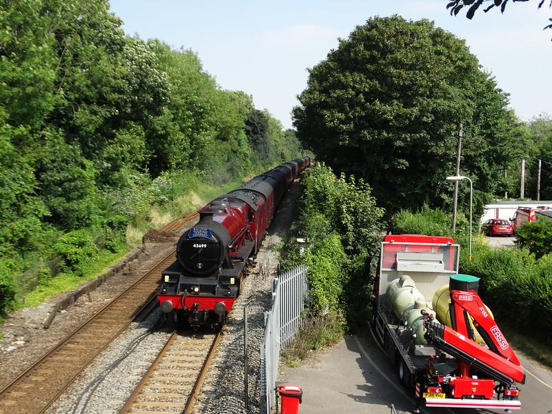 "LMS  Jubilee Class 5699 ""Galatea"" - St Cross (Winchester)"