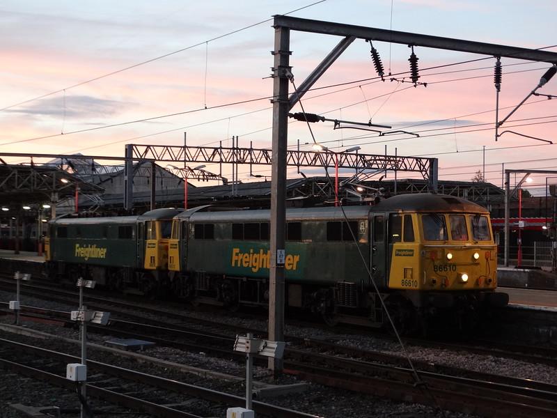 86614 & 86610 - Crewe