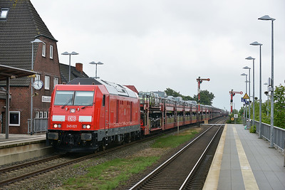Class 245 No 245.021 at Klanxbull on 7 August 2016