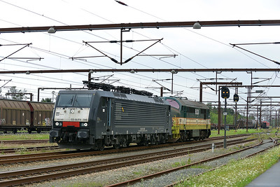 MRCE Class 189 No 189.986 at Padborg on 7 August 2016