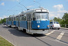 Daugavpils acquired secondhand Tatra T3Ds from Schwerin in Germany