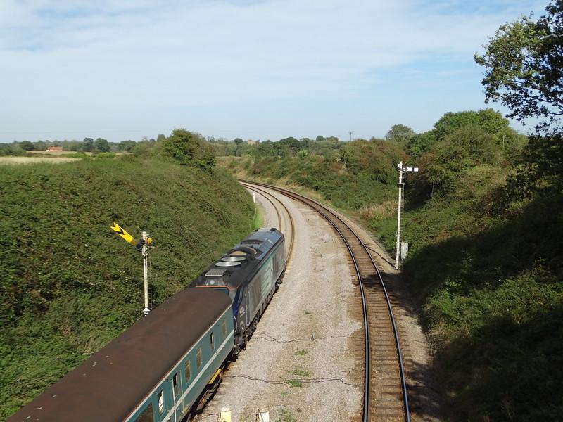 68022 - Reedham Swing Bridge<br /> <br /> 2J77 12:57 Lowestoft to Norwich