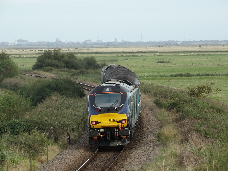 68022 - Halvergate<br /> <br /> 2P28 16.40 Norwich to Great Yarmouth
