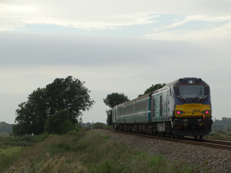 68024 - Halvergate<br /> <br /> 2P29 17.17 Great Yarmouth to Norwich