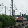 66009 - Maxey (Helpston)<br /> <br /> 0E26 08:10 Dollands Moor Sidings to Scunthorpe Redbourne Siding