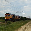 66753 - Marholm<br /> <br /> 6M34 12:21 Ferme Park Reception Line GB Railfreight to Bardon Hill GB Railfreight