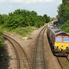 66176 - March West Junction<br /> <br /> 4M86 16:58 Ely Papworth Sidings MLF to Peak Forest RMC Sidings