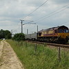 66011 - Marholm<br /> <br /> 6E63 12:55 Mountsorrel Sidings to Peterborough West Yard