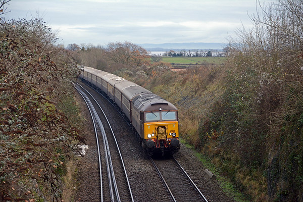 Approaching Chepstow