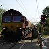 66047 - Margaretting (Church Lane)<br /> <br /> 6O79 09:38 Marks Tey Tarmac to Crawley New Yard RMC