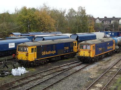 73109 & 73107 - Tonbridge West Yard