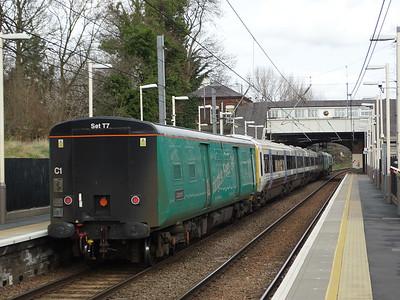 Class 508 Translator Car 64664 & 4659 - Brondesbury Park