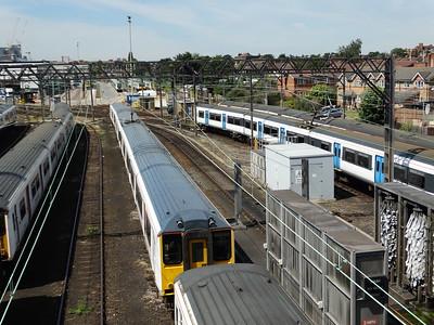 Class 317 - Ilford Depot