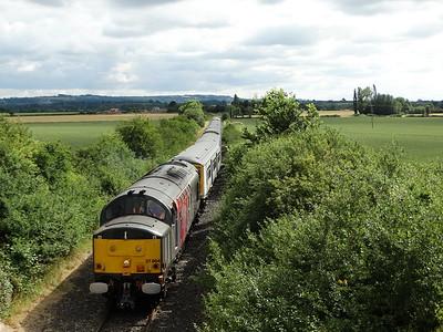 37884 - Long Marston  5M94 Hornsey EMU Depot - Long Marston (Units 319421 & 319003 for storage)