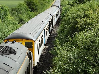 319421 - Long Marston  5M94 Hornsey EMU Depot - Long Marston (Units 319421 & 319003 for storage)
