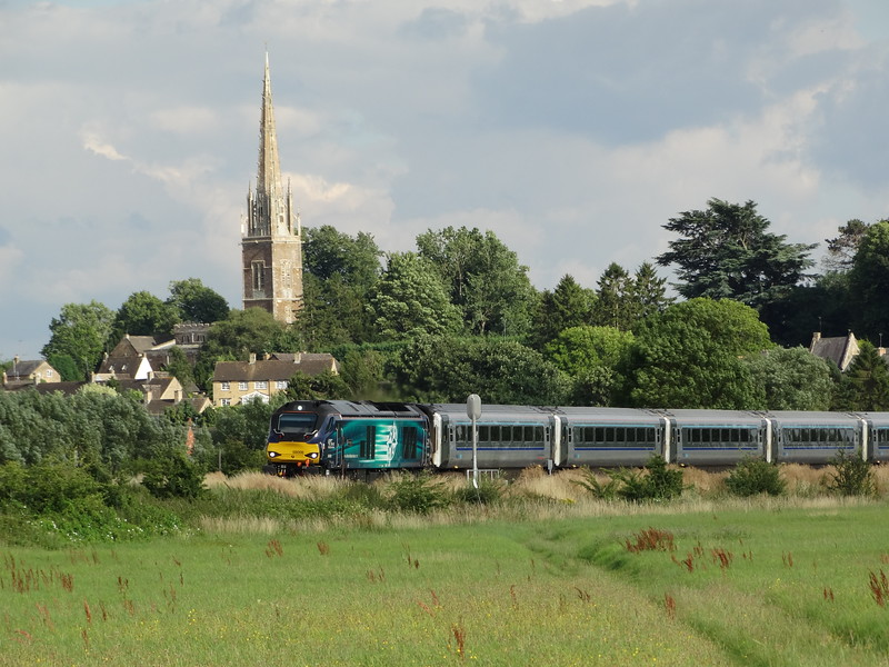 60008 - Kings Sutton<br /> <br /> 1K50 17:15 Marylebone to Kidderminster