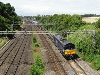 66426 - Roade  4L48 12:37 Daventry International Rail Freight Terminal Victa Westlink Rail to Purfleet Deep Water Wharf Freightliner